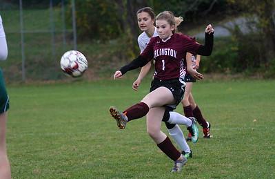 AMHS Girls Varsity Soccer vs Sharon Academy photos by Gary Baker