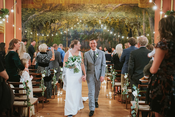 Jennifer + Luke Wedding