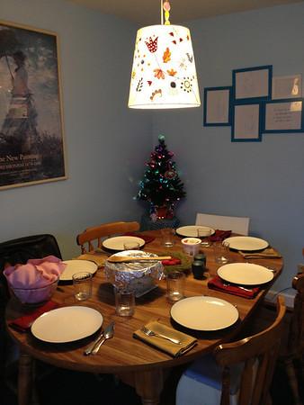 Christmas Dinner, 2012