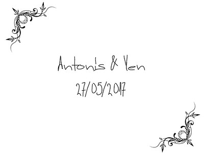 Antonis & Yen 27/05/2017