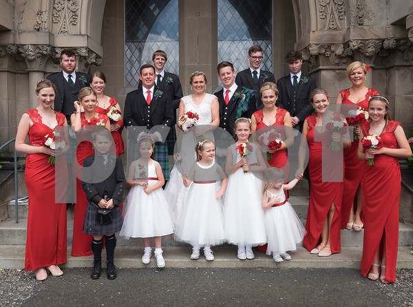 Carly and Graeme's wedding