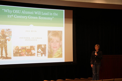 OUAB Presents: Jill Buck Founder of the Go Green Initiative