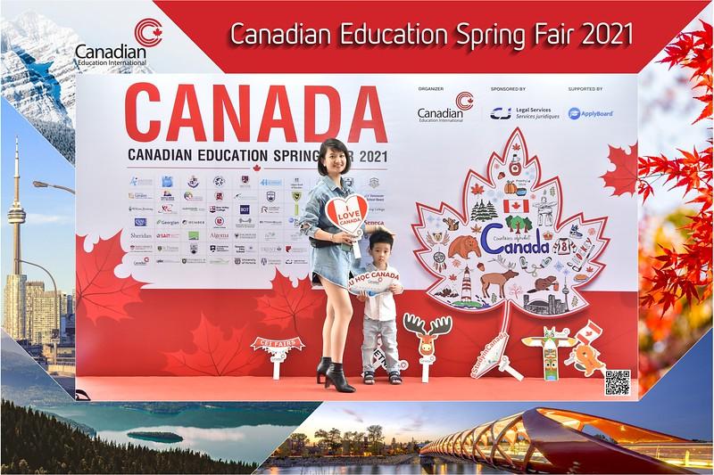 Canadian Education Fair 2021 instant print photo booth @ Meliá Hanoi   Chụp hình in ảnh lấy ngay Hội thảo du học Canada   Ha Noi Photo Booth Vietnam
