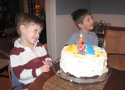 JGL 3rd birthday cake