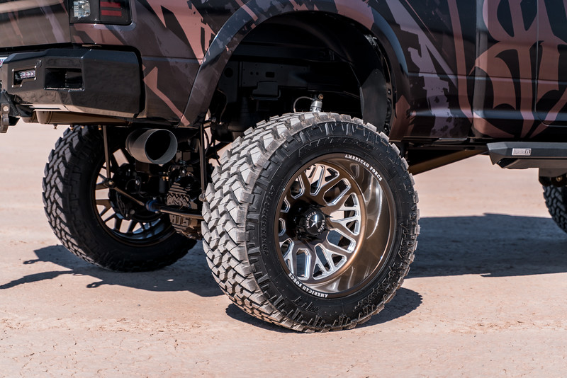 @Coreyrobinson66 2015 Dodge Ram 2500 MegaCab featuring our 24x14 PANIC from our Special Force Concave Series wrapped in 40x15.5r24 @NittoTires-173.jpg
