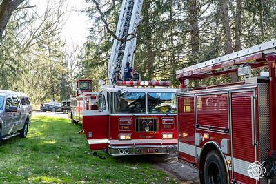 Blackhorse Hill Rd- Caln Township - House Fire