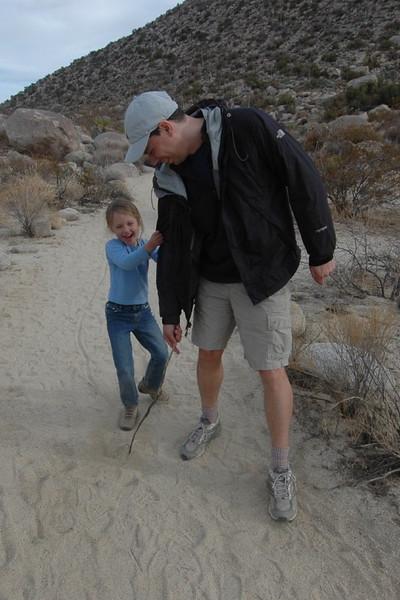 Kelly in Southern California Desert