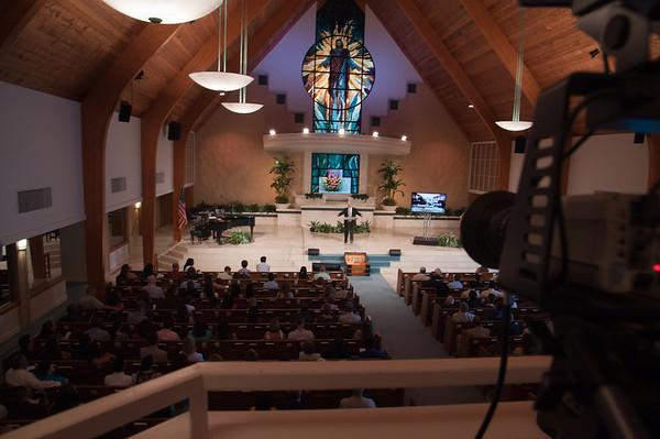 Geoff Patterson's First Sermon
