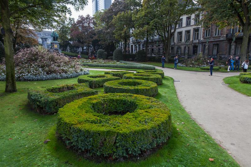 The Square du Petit Sablon - a nice park in the Sablon neighborhood. Again, we randomly stumbled upon it.