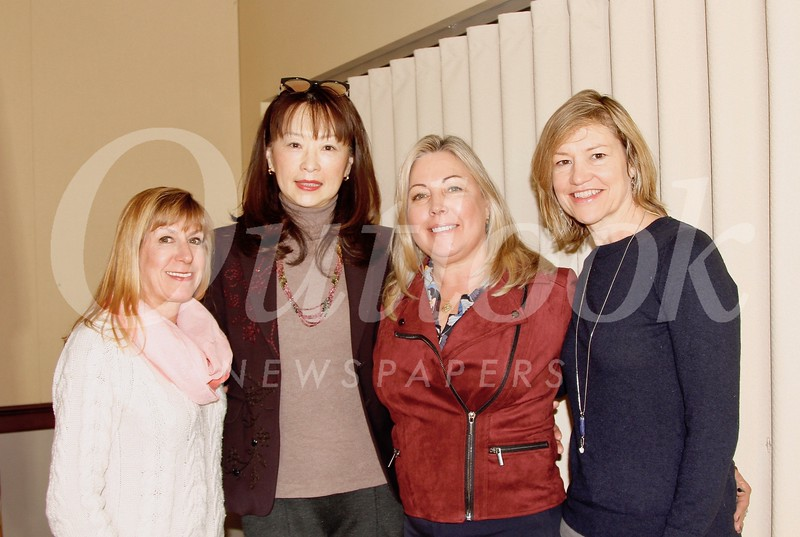 Maria De Jesu, Connie Ching, Gretchen Shepherd Romey and Debra Spaulding