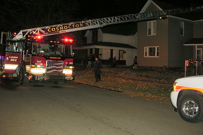 11-24-12 Coshocton FD House Fire