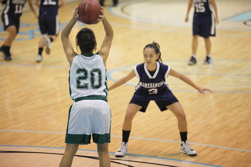 2009 HHSAA Girls DII Championship - Molokai vs. Kamehameha-Hawaii