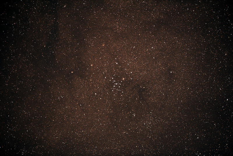 Messier M7 - NGC6475 - Ptolemy's Cluster - 3/6/2017 (Processed stack w/o FLATS)