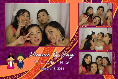 Hanna & Jay Wedding (Luxury Photo Booth)