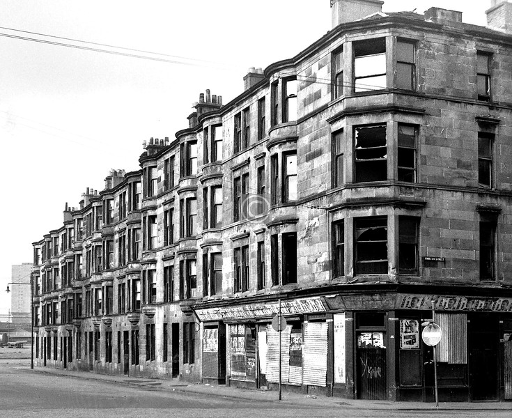 Martyr St. east side from Parson St.  April 1973