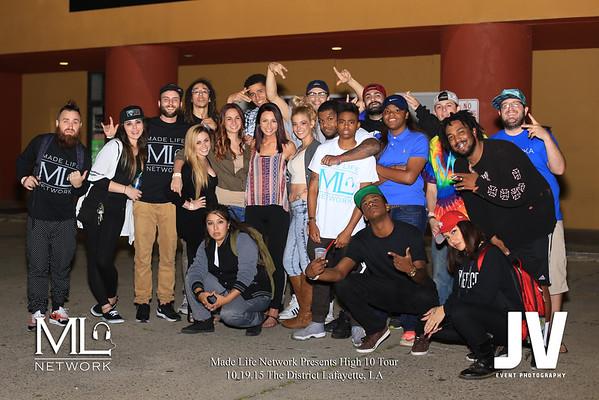 High 10 Tour at The District Lafayette, LA 10.19.15