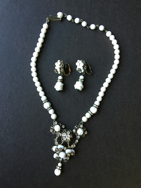 necklace + earring set