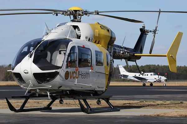 Virginia Commonwealth University Life Evac 2013 Eurocopter Deutschland GMBH MBB-BK 117 C-2, Petersburg, 27Jan18