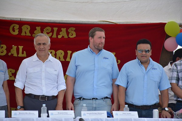 Los Hatillos Water System Inauguration, Honduras, 2016