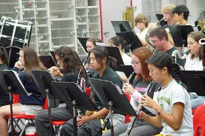 9-26-03 Orchestra Rehearsal
