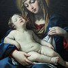 Madonna and Child by Francesco Giovanni Gessi, oil on canvas, circa 1624.  The Louvre Museum, Paris, France