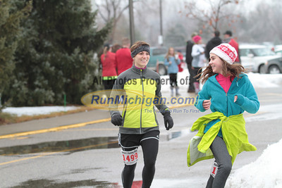 Finish 47:17 to end  - 2013 Shelby Township Jingle Bell 5K