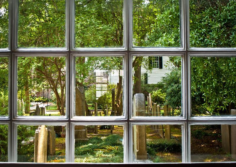 "' Chapel View ' Charleston, SC  12""x16"", Luster paper (12 mil)"