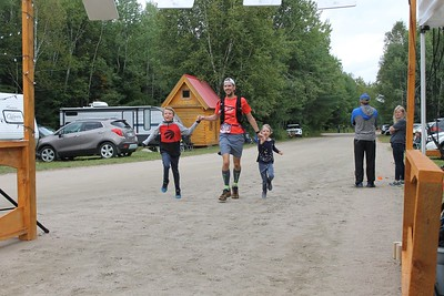 Haliburton Forest Ultra Race 2019 Finish Line