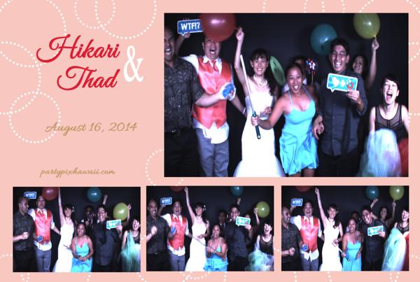 Hikari & Thad's Wedding (Slow Motion Photo Booth)