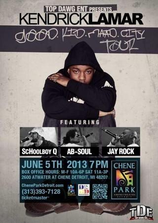 Kendrick Lamar 6-5-13 Wednesday