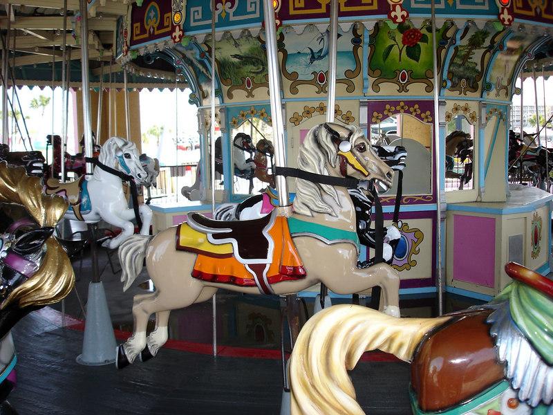 Family Kingdom carousel.
