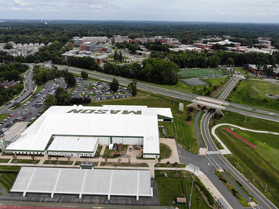 Aerials of campus
