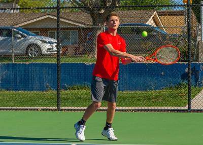 2019-04-13 Dixie HS Tennis - Hayzen Chamberlain