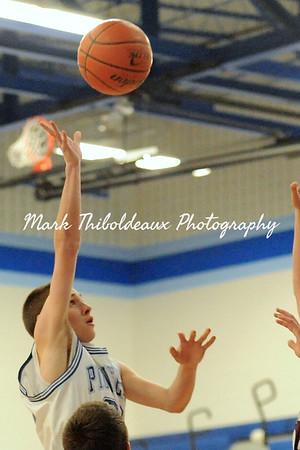Lampeter-Strasburg Boy's JH JV/V Basketball v. MC 1.19.15