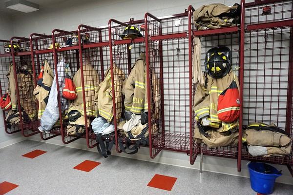 New La Porte Fire Station Hose Uncoupling 2020