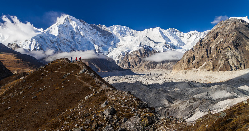 Cho Oyu And The Ngozumpa Glacier, Nepal