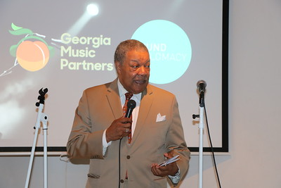 Chairman Pitts @ Georgia Music Partners announcement July 25, 2019