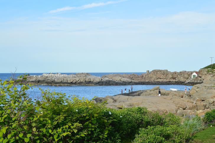 Ogunquit's beautiful coastline
