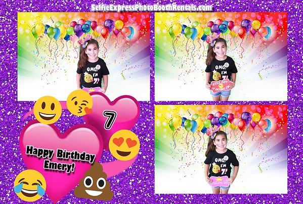 Emery's 7th Birthday