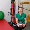 Courtesy photo/Derry News. Dr. Sheri Dobens, a physical therapist at<br /> Parkland Medical Center, gives healthy tips for Super Bowl Sunday.