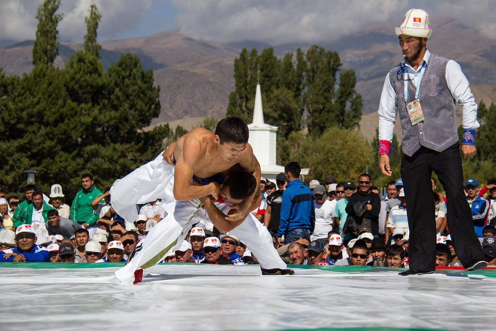 Kazakh wrestling