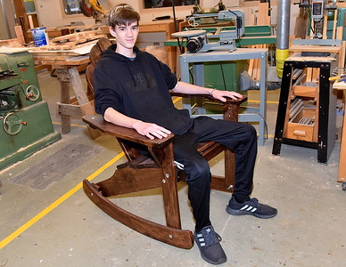 Check Out Some AMHS Woodworking Projects photos by Gary Baker