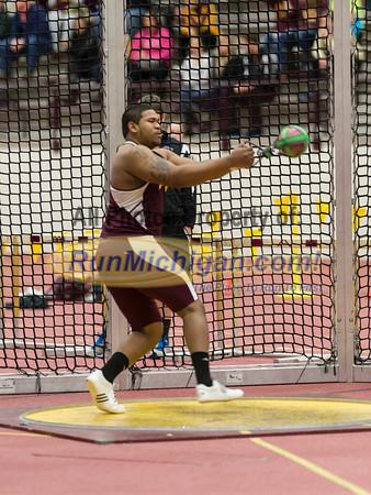 Weight Throw - 2013 CMU Open Indoor Track Meet