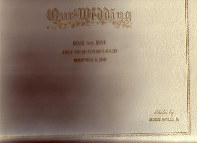 Doug & Jean Johnston's Wedding Photos