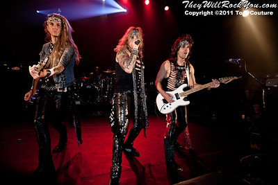 Steel Panther <br> October 11, 2011 <br> Gramercy Theatre - NYC, NY <br>  Photos by: Tom Couture