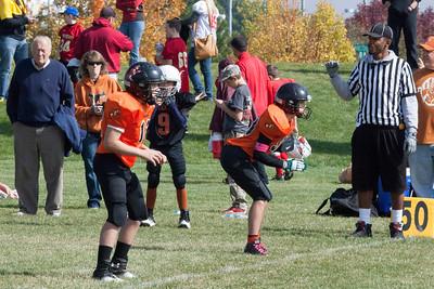 2013 Erie 12U Football v Mavs