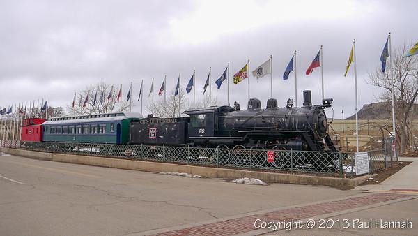 Engine 638 - Trinidad, CO