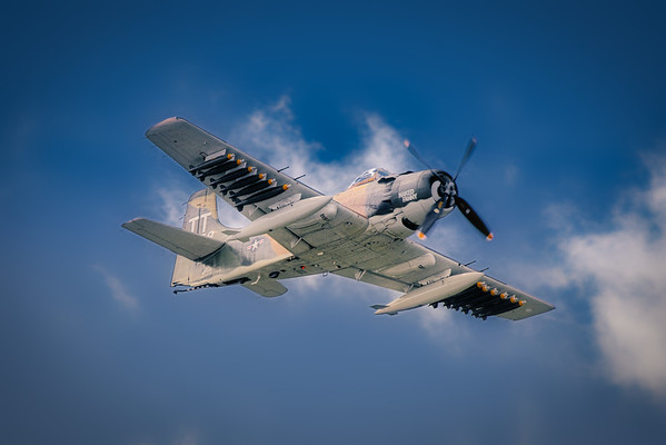 Douglas A-1E Skyraider - Naked Fanny & Bad News