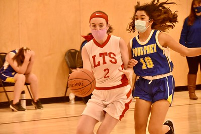 LTS M.S. Girls Basketball vs PHS I photos by Gary Baker