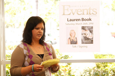 """03-26-11 Lauren Book's """"It's OK To Tell"""" book signing at Barnes & Noble in Pembroke Pines by Omar Vega"""